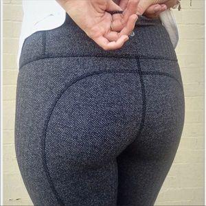 Lululemon herringbone crop leggings